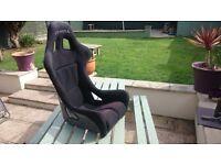 Cobra race Bucket seat & Harness