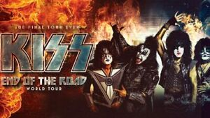 Kiss Tickets March 19 + Parking