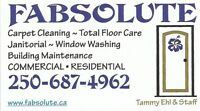 Janitorial, Carpet Cleaning, Floor details, Window Washing