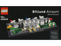 BRAND NEW LIMITED EDITION Lego Billund Airport!!
