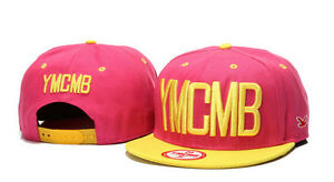 New YMCMB Snapback Hip-Hop Adjustable Hats- Various Colours UK Stock