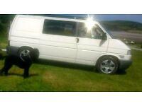 "audi 17"" alloy wheels vw t4 transporter 5x112"