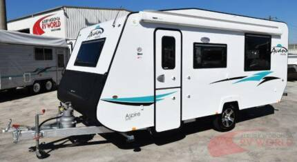 NEW A'van Aspire 525 Caravan - Large living space & island bed