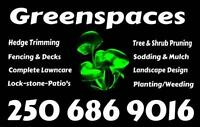 Greenspaces Property Maintenance 250 686 9016