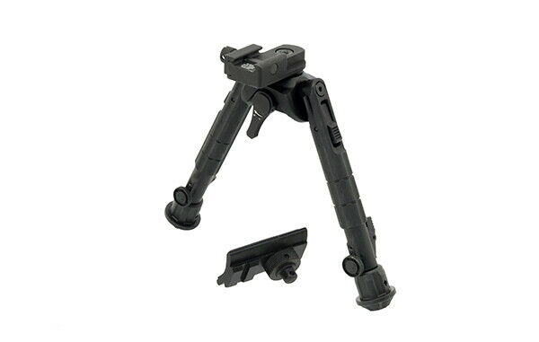 "UTG TL-BP01 Recon 360 TL Bipod, 7""-9"" Center Height, Picatin"