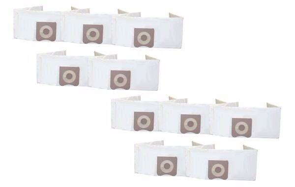 10 Replacements Ridgid 3-4.5 Gallon Wet/Dry Vacuum Bags Part # VF3501