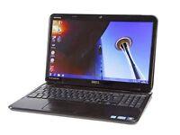 Dell inspiron i5 laptop windows 10 6gb ram 500gb hard drive dvd/rewriter fast laptop