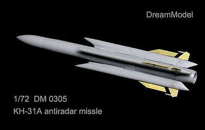 Dreammodel 1/72 0305 Kh-31A Kh-31 AS-17 Krypton anti-radiation missile Resin