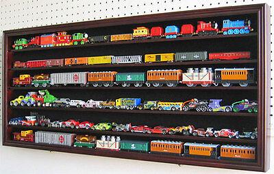 HO / RR Scale Model Train Hot wheel Display Case Cabinet Shadow Box- HW05-MAH