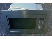 Hotpoint MWH121 Stainless Steel - Built In Microwave