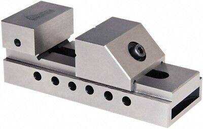 Gibraltar 2-38 Capacity 2-916 High Steel Toolmakers Vise Flat Jaw 5-1...