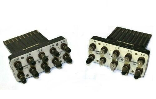 [Lot of 2] GE General Electric 12XLA12A1 Relay Connection Test Plugs [Ref A]