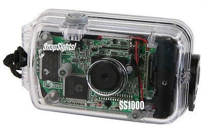 "Intova SS-1000 Snap Sights Sports Utility Digital ""See Thru"" Camera - NEW"