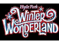 Hyde Park London Winter Wonderland Christmas Staff