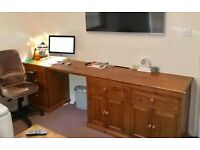 South Harrow desk space available for hire during the day in this home office