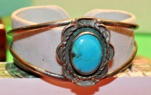 Vintage Native American Turquoise Bracelet 14.7 grams