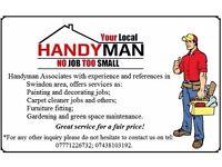 Handyman Jobs - Painting, Decorating, Gardening etc