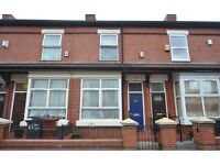 Two Double Bed Terraced House on Broadfield Road, Manchester - Ideal for students