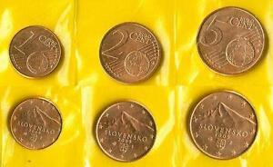 2009 SLOWAKEI SLOVENSKO Kursmünzen 1 Cent & 2 Cent & 5 Cent UNC prägefrisch - <span itemprop='availableAtOrFrom'>Perchtoldsdorf, Österreich</span> - 2009 SLOWAKEI SLOVENSKO Kursmünzen 1 Cent & 2 Cent & 5 Cent UNC prägefrisch - Perchtoldsdorf, Österreich