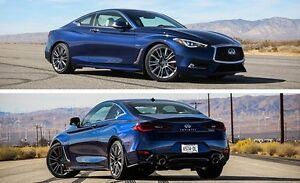 2017 Infiniti Q60 3.0t Red Sport 400 Coupe (2 door) - Loaded!