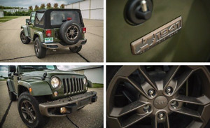 LOOKING for Jeep wrangler 75th anniversary edition bumpers