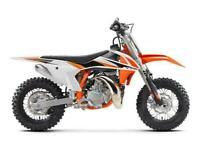 KTM 50 SX MINI - 2022 - TAKING ORDERS NOW!