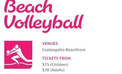 Commonwealth Games Beach Volley Ball Tickets