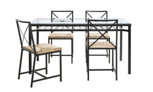 IKEA Granas Dining Table (w/ 4 chairs) + 2x Granas Coffee Tables