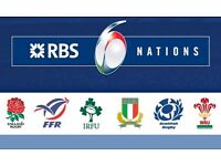 2 x Upper Tier tickets for England vs Italy 6 nations six nations tickets