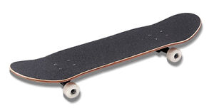 NEW  SKATEBOARD WITH GRIP AND WHEELS $39