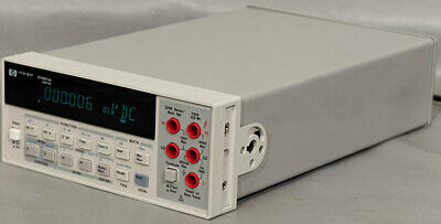 Hpkeysightagilent 34401a 6.5 Digit Dmm Digital Multimetermeter