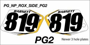Rox Snowcross Numberplates and Decals Kawartha Lakes Peterborough Area image 5