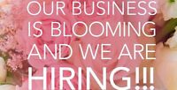 FLORIST NEEDED Freelancer for events and the decor setup