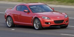 2005 Mazda rx8 gt with safety