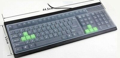 CLEAR TPU Keyboard Cover Skin for Universal Desktop Computer