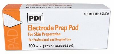 Electrode Prep Pads For Skin Preparation By Pdi Healthcare Box Of 100
