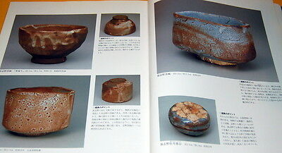 Pottery selection of Living National Treasures of Japan book japanese #0199 ()