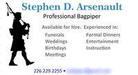 Bagpipes for Hire