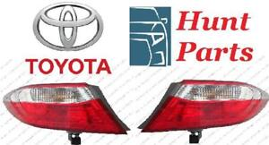 Toyota Camry 2015 2016 2017 License Plate Bracket Radiator Fan Support Signal Lamp Light Taillamp Tail Trunk Valance