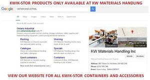 KWIK-STOR PORTABLE STORAGE CONTAINERS. KWIK STOR STORAGE UNITS Kitchener / Waterloo Kitchener Area image 2