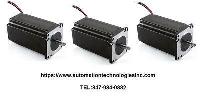3pc Nema23 570ozin 5a 14 Dual Shaft Stepper Motor Kl23h2100-50-8b