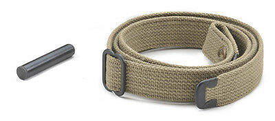 Usgi Ww2  30 M1 Carbine Sling And Oiler Khaki