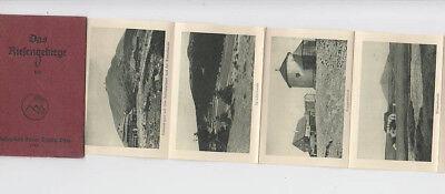 Das Riesengebirge Kleinalbum 10 Fotos Spindlerbaude Koppenhäuser 1926 Elbfall