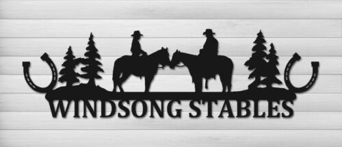 PERSONALIZED EQUESTRIAN WALL HANGING