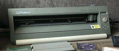 Roland Vinyl Plotter Cutter Cx24 24 Sticker Machine Gx 24 Sign Maker