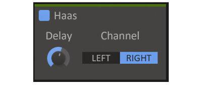 Kilohearts Haas Estéreo Batea Plugin Efecto Synth Software Descargar
