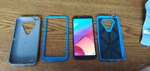LG g6 with extras