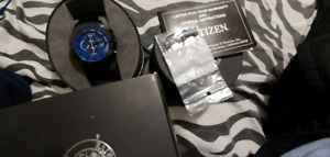 Montre citizen eco drive titanium