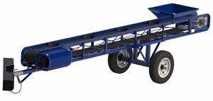 flat belt PORTABLE CONVEYOR Used Screw Conveyor Auger