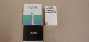 BNIB Iqos Tobacco Heating System with 160 Heets